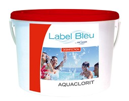 Label-Bleu Aquaclorit